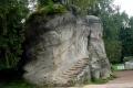 skała przy wejściu do Skalnego Miasta