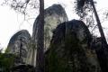 skały w rezerwacie