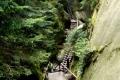 system schodów i kładek turystycznych