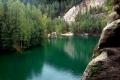Adrszpaskie Jeziorko w zalanym kamieniołomie
