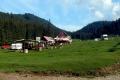 pole biwakowe na polanie Glavoi