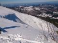 podejście na przełęcz Brona