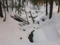 zimowa szata potoku Jaworzynka