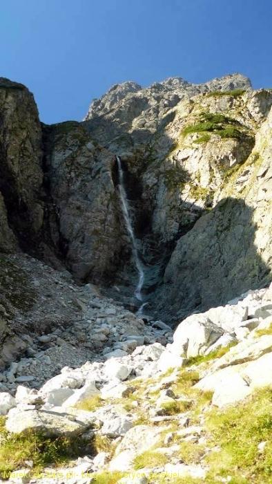 Dzika Siklawa na progu Doliny Dzikiej