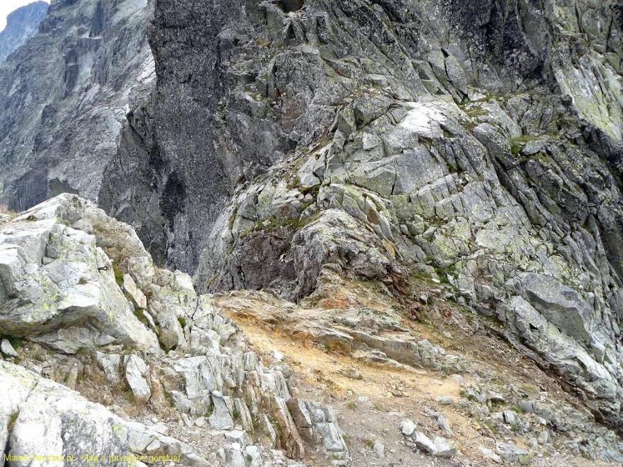 widok na Baranią Przełęcz z góry