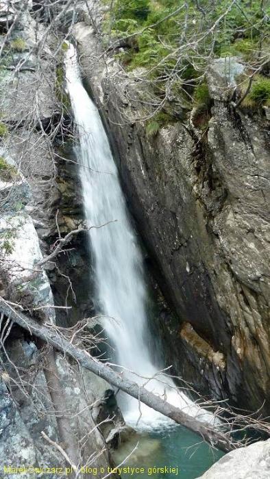 Wielki Wodospad w Dolinie Zimnej Wody