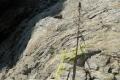 130 metrów łańcucha ułatwia wspinaczkę, ale nie wszędzie