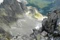 spojrzenie z Baranich Rogów w stronę Doliny Kiezmarskiej