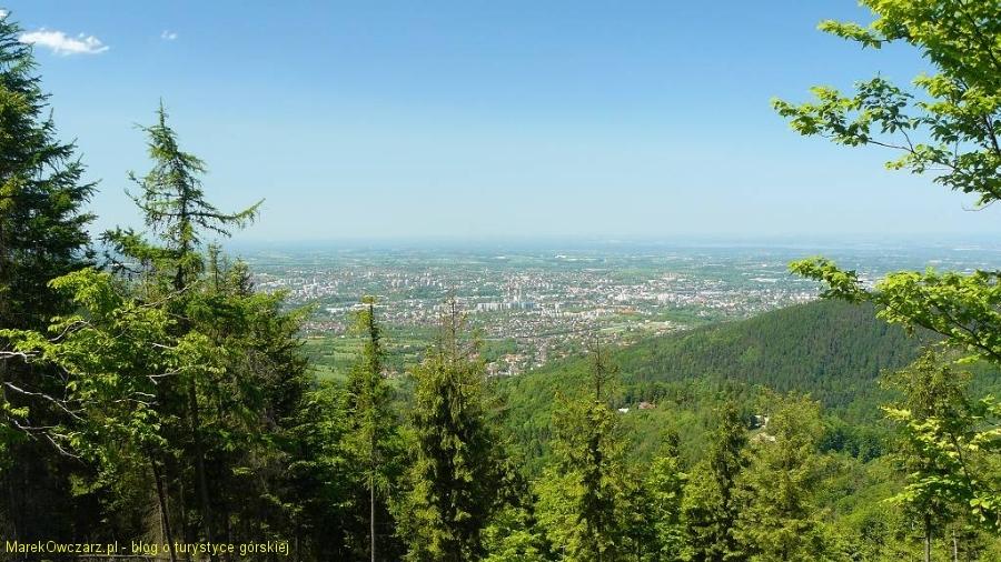 panorama Bielska-Białej z Magurki