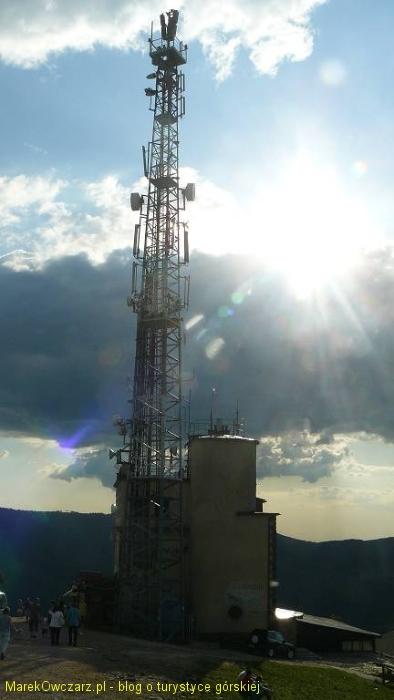 przekaźnik na górze Żar