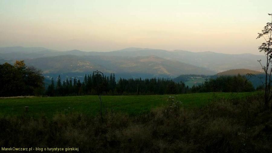 w stronę Baraniej Góry