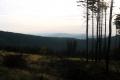 Beskidy przed zachodem słońca