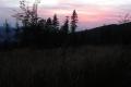 zachód słońca z polany Hodorowskiej
