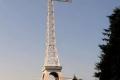 krzyż milenijny na Miejskiej Górze