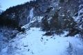 lodospad w Dolinie Białej Wody