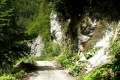 droga do ujścia wąwozu Galbenei