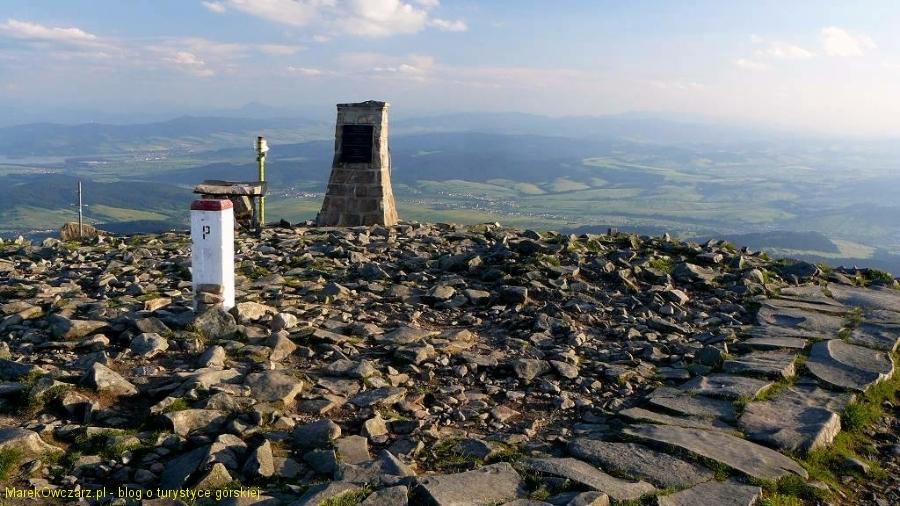 polsko - słowacki szczyt Babiej Góry