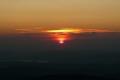 słońce zachodzi nad zalewem Międzybrodzkim