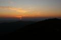 wschód słońca z Diablaka