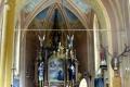 wnętrze kaplicy w Trzcianie