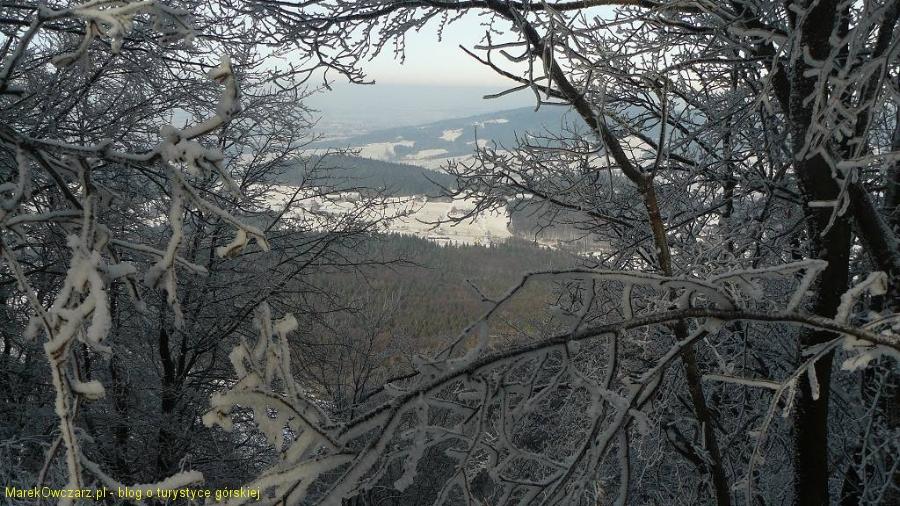 ograniczony widok ze szczytu Chełma
