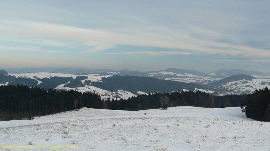 panorama Beskidu Niskiego