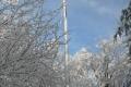 krzyż na szczycie Chełma