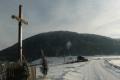 widok na górę Chełm z Podchełmia