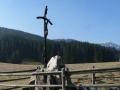 krzyż przy wejściu do Doliny Chochołowskiej