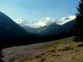 szczyty nad Doliną Jarząbcza