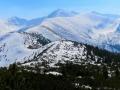panorama Tatr Zach. z Grzesia
