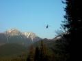 helikopter w akcji nad Chochołowską