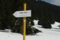 zimowy szlak na Chocza