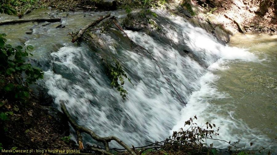 kaskada na Olchowatym potoku