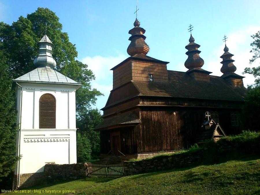 cerkiew w Wisłoku Wielkim z 1850r.