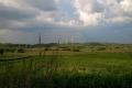 wiatraki na bieszczadzkich polach