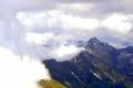 chmury osaczają Tatry