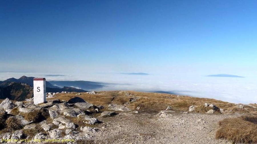 wyspy Babiej Góry i Pilska z Ciemniaka
