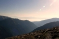 słońce nad Niżnymi Tatrami