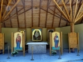 główny ołtarz w sanktuarium