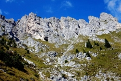 Forcella D'oltro Dolomity