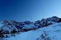 panorama od Żółtej Turni po Świnicę