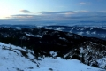Pilsko, Babia Góra z przełęczy między Kopami