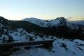 Giewont i Kopa Kondracka po zachodzie słońca