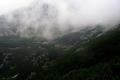 Batyżowieckie siklawy pod chmurami