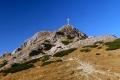 Giewont z Wyżniej przełęczy Kondrackiej