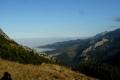 chmury zalewają doliny tatrzańskie