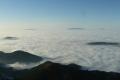 ocean chmur widziany z Giewontu