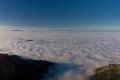 panorama chmur pod Tatrami