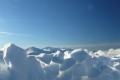 spojrzenie na słoneczne zimowe szczyty